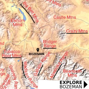 Bozeman Elevation - Explore Bozeman