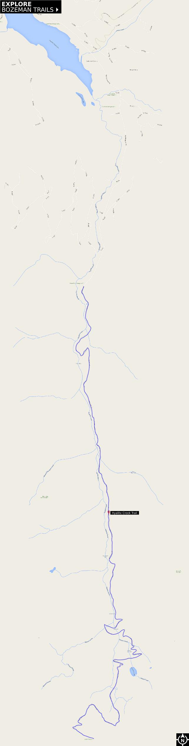 Hyalite Creek Trail - Explore Bozeman