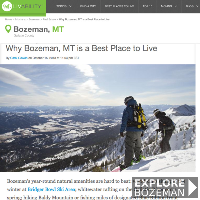 Why Bozeman Montana Is A Best Place To Live