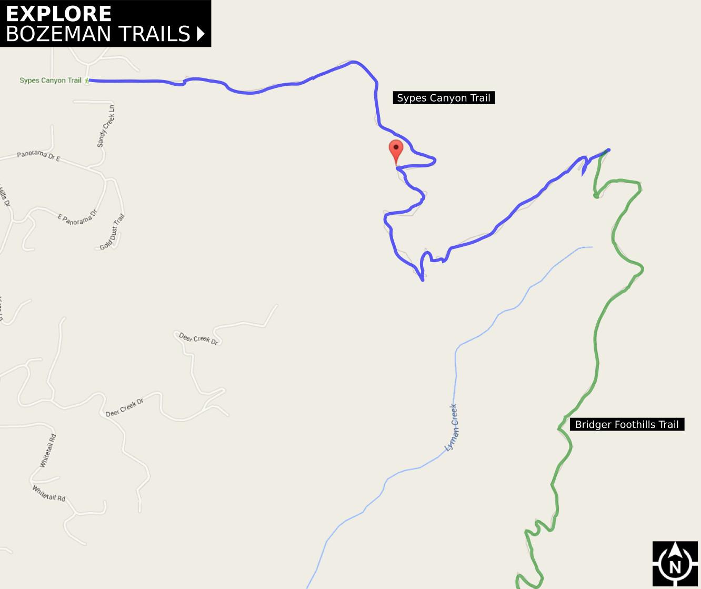 Sypes Canyon Trail